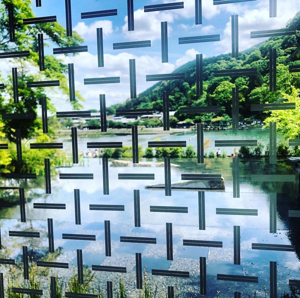 京都嵐山美術館2019年10月、林侑子作品展示